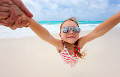 Beach fun Royalty Free Stock Image