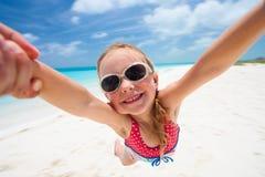 Beach fun Stock Image