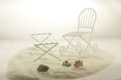 Beach furniture Stock Photography
