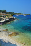 Beach of Gaios Stock Images