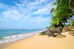 Beach in Gala Royalty Free Stock Photo