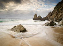 Beach in Galicia, Stock Photography