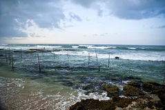 Beach in Galle Sri Lanka Royalty Free Stock Image
