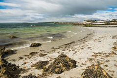 Beach in Galway Stock Photo
