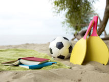Beach games Royalty Free Stock Photography