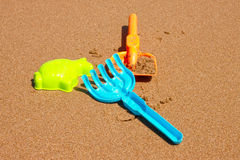 Beach games Stock Images