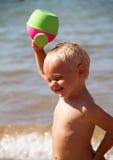 Beach games Royalty Free Stock Photos
