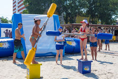 Beach games Royalty Free Stock Images