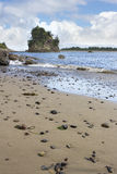 Beach at Garibaldi Oregon Stock Image