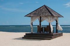 Beach gazebo Royalty Free Stock Image