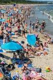 Beach in Gdansk Royalty Free Stock Photo