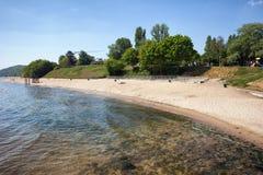 Beach in Gdynia Orlowo Stock Photos