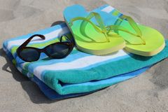 Beach gear Royalty Free Stock Photos