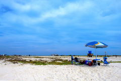 Beach Gear and Fun, Tortuga Island Venezuela stock photos
