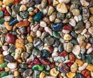 Beach gemstones Stock Image