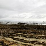 Beach. Geology bueach sea wallpaper stock photo