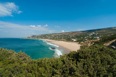 Beach of German in Tarifa Stock Photo