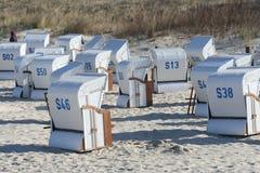 Beach in Germany Stock Photo