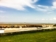 Beach. In Germany near Cuxhaven Stock Photo