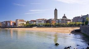 Beach In Getxo Stock Images