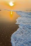 Beach in Ghana in the morning Stock Photos