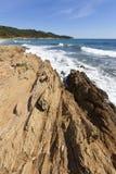 Beach Gigaro Royalty Free Stock Photos