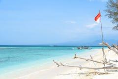 Beach of Gili Meno Royalty Free Stock Photos