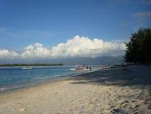 Beach at Gili Trawangan. Indonesia Royalty Free Stock Image
