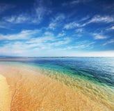 Beach on Gili Stock Photos