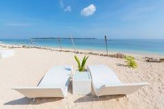 Beach on Gili Royalty Free Stock Photo