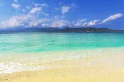 Beach on Gili Stock Photo