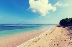 Beach on Gili Royalty Free Stock Images