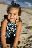Beach girl Royalty Free Stock Photography