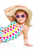 Beach girl. Royalty Free Stock Photo