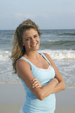 Beach Girl Stock Photo