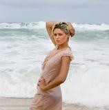 Beach girl Royalty Free Stock Photos