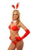 Beach girl in bikini Royalty Free Stock Images