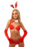 Beach girl in bikini Royalty Free Stock Photo