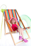 Beach girl Stock Photo