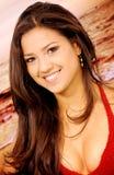 Beach girl portrait Stock Photo