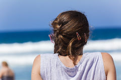 Beach Girl Teenager royalty free stock image