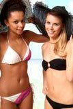 Beach Girls Stock Photography