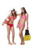 Beach girls Royalty Free Stock Photography