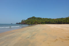 Beach in goa Stock Image