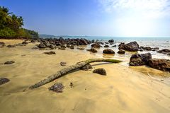 Beach in Goa, India Royalty Free Stock Photos
