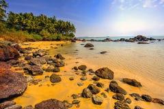Beach in Goa, India Royalty Free Stock Photo