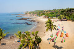 Beach in Goa, India Royalty Free Stock Photo