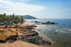 Beach in Goa, India Stock Image