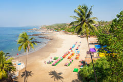 Beach in Goa, India Royalty Free Stock Photos