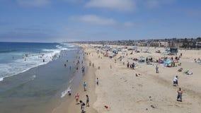 Beach Goers Stock Photos